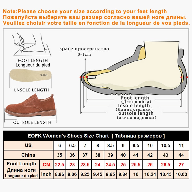 EOFK Women Moccasin Flats New Spring Autumn Suede Genuine leather Shoes Lady Loafers Tassel Slip On Platform Woman Moccasins 5