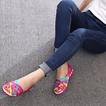 jelly-color-cross-strap-sandals